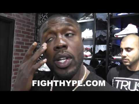 ANDRE BERTO TALKS POTENTIAL CLASH WITH DANNY GARCIA; SAYS HE HAS CHINKS IN HIS ARMOR, BUT DANGEROUS