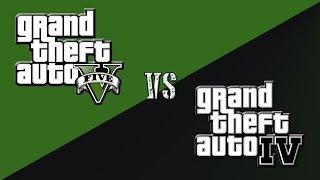GTA V vs GTA IV