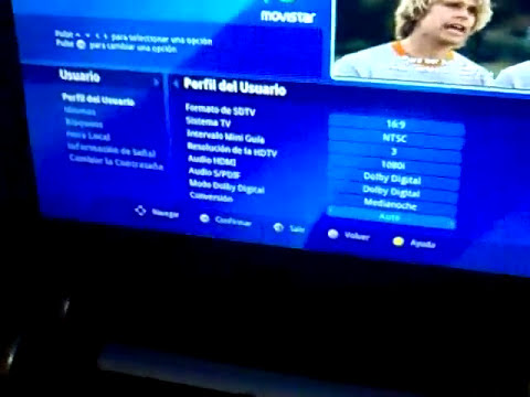 Movistar TV HD y Decodificador HD (Chile)