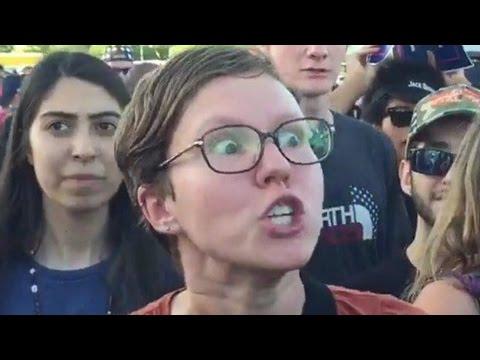 [SJW MELTDOWNS] Reaction To Donald Trump Victory (6)
