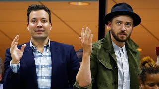 "Download Lagu Justin Timberlake & Jimmy Fallon Dance to ""Single Ladies"" at US Open Gratis STAFABAND"