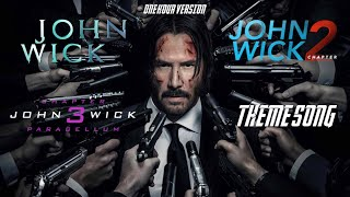 JOHN WICK (THEME SONG) | 1 HOUR VERSION