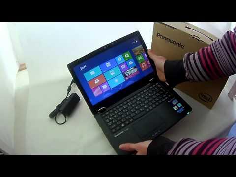 Panasonic AX2 Tablet Laptop convertible windows 8 Toughbook Ultrabook computer overview