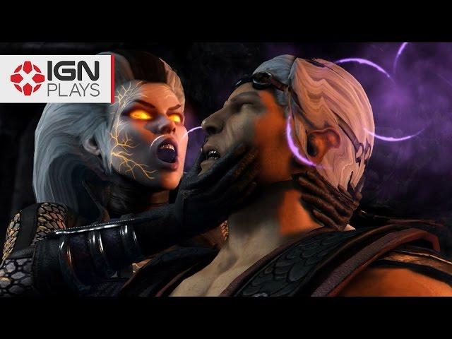 Mortal Kombat X: Sindel Mod Gameplay - IGN Plays