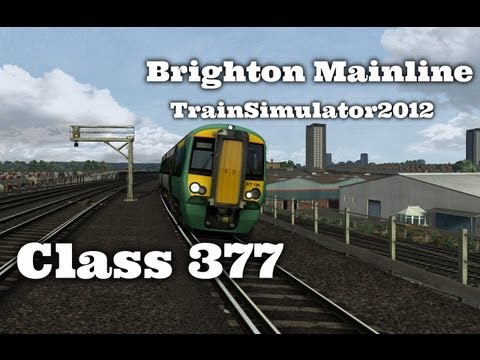 Class 377 | London to Brighton - [TS2012-Railworks 3]