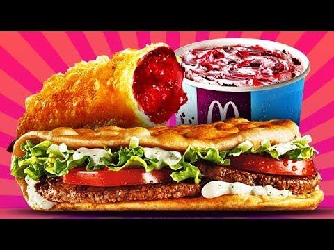 Топ10 ИСЧЕЗНУВШИХ Вкусняшек Макдональдса!