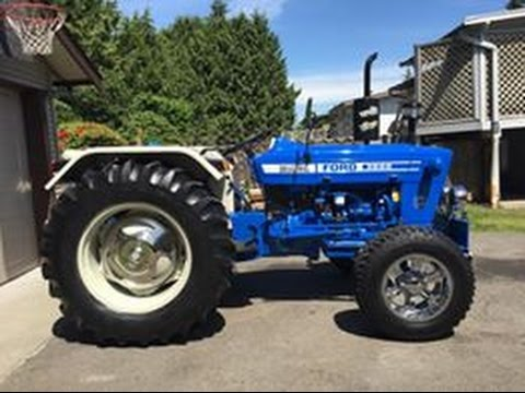 FORD 3600 FULL MODIFIED BRAND NEW TRACTOR REVIEW  IN FOREIGN