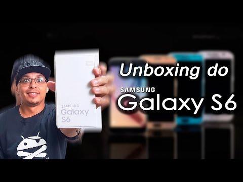 Unboxing Samsung Galaxy S6 - SM-G920I