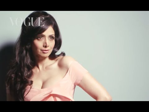 August 2013 Cover Star Sridevi Makes Her Vogue Debut video