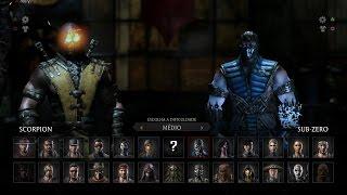 Mortal Kombat X: Scorpion vs Sub-Zero Gameplay PT/BR (DUBLADO) PS4