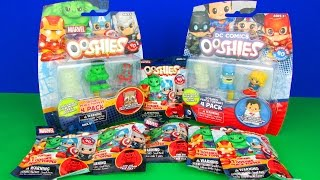 Marvel vs DC Surprises OOSHIES Blind Bags & Multipacks Ultimate Superhero Toys Opening