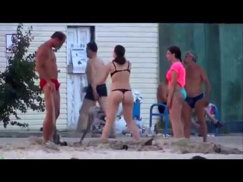 Смешные ситуации на курортах, на отдыхе и пляже