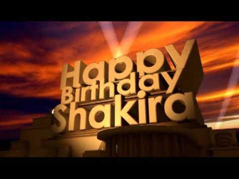 Happy Birthday Shakira