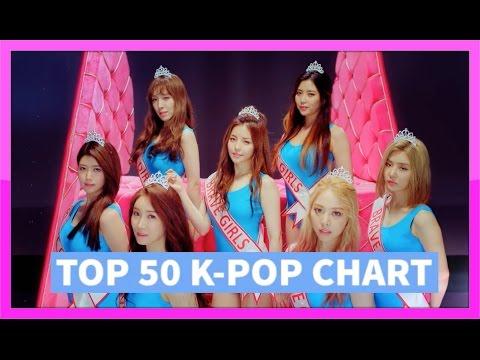 [TOP 50] K-POP SONGS CHART - JULY 2016 (WEEK 1)
