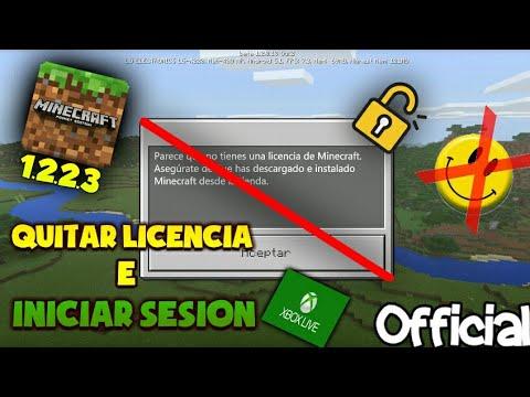 Como Eliminar La Licencia Sin Lucky Parchet Ni Root || Minecraft Pe 1.2.2.3