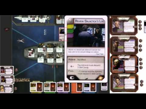 how to play battlestar galactica