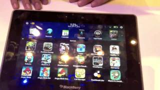 CES Video_ BlackBerry PlayBook 2.0 sneak peek