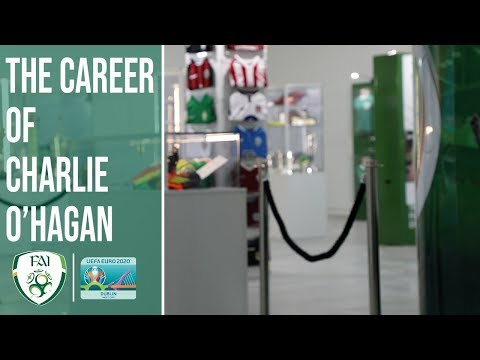 National Football Exhibition showcases career of Charlie O'Hagan