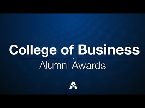 2015 College of Business Alumni Awards