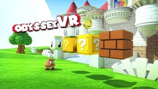 GOOMBAS AND GRABBING GOLD COINS IN VR! - Odyssey VR Update