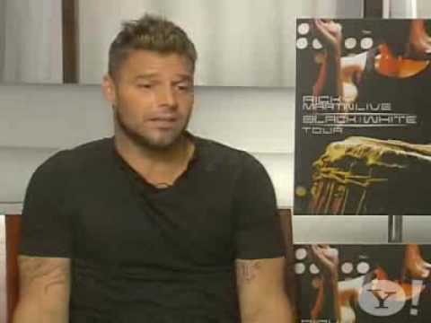 Ricky Martin - Yahoo! Interview by Alfredo Bellido (Spanish)
