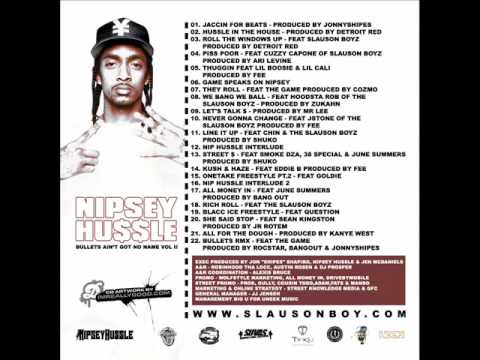 Nipsey Hussle - Talk About Me
