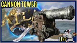 Building a cannon tower in ATLAS testing