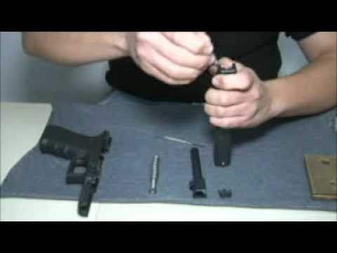 CESBA. Desarme Glock 17. Primera Parte.