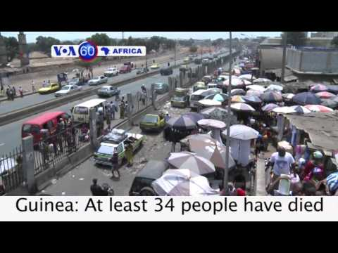 Egypt: 529 Muslim Brotherhood members sentenced to death VOA60 Africa 03-24-2014