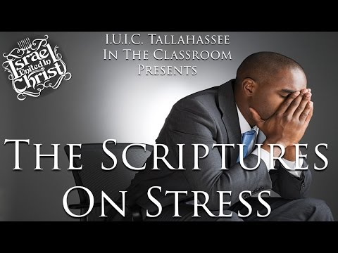 The Israelites: The Scriptures On Stress!!!