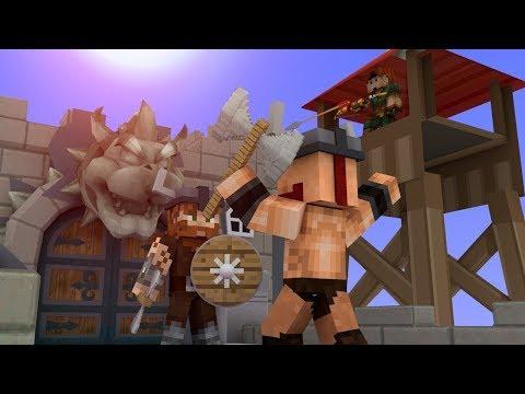 ПРОТИВОСТОЯНИЕ ДВУХ КРЕПОСТЕЙ В МАЙНКРАФТЕ! Minecraft Fortress Frenzy 2