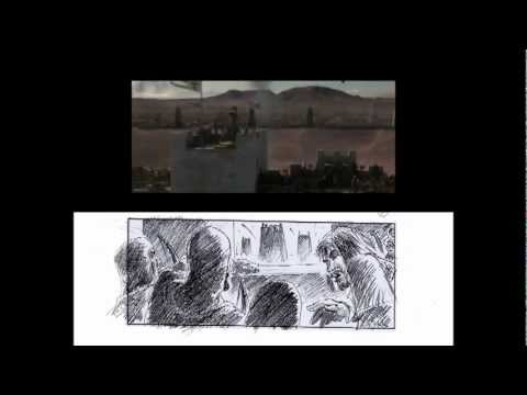 Ridley Scott and Cristiano Donzelli's Kingdom of Heaven storyboard