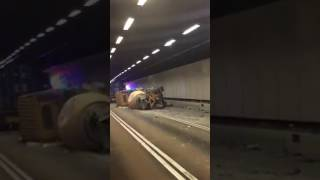 Accident in Tai Lam Tunnel (Hong Kong)