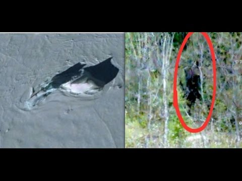 Top 5 creepy things on Google Earth!