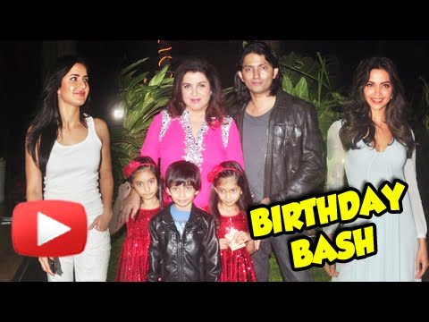 Deepika Padukone, Ranveer Singh, Katrina Kaif | Bollywood Celebrities At Farah Khan Birthday Bash