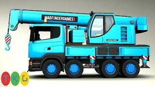 Lắp Ráp Xe Cần Cẩu - Crane Truck | TopKidsGames (TKG) 339