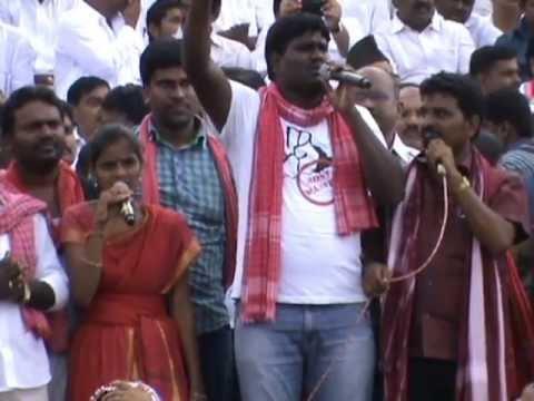 SaiChand's 'Veerullaaraa Veera Vanithallaaraa'@Sakala Jana Bheri
