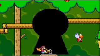 Super Mario World - Forest of illusion 1 SECRET EXIT ( Capitulo 32 ) en Español