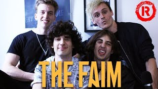 The Faim Talk Writing Music With Pete Wentz, Josh Dun, Ashton Irwin And Mark Hoppus