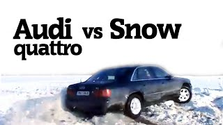 Audi Quattro vs. Snow #2 [Compilation] (2016)
