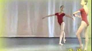 ballet techniques---triple pirouettes