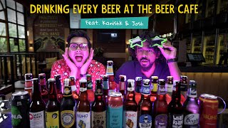 Can They Finish Every Beer At Beer Cafe? | Feat. Kanishk And Josh | Ok Tested