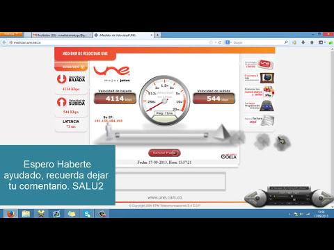 Tutorial: Saber la Velocidad del Internet [HD 100% Recomendable] [2014/2013]