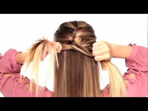 Видео как заплести французскую косу