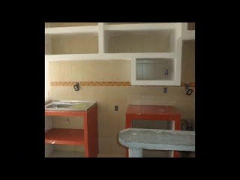 Remodelacion cocina integral youtube for Cocinas modernas en cemento
