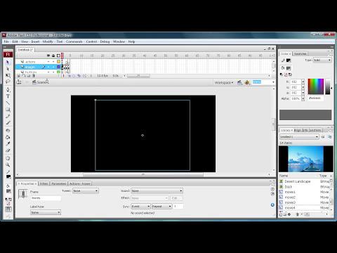 Flash Tutorial: Create a Simple Image Gallery! -HD-
