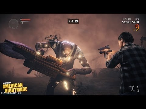 Alan Wake's American Nightmare PC - Arcade Action - Cemetery
