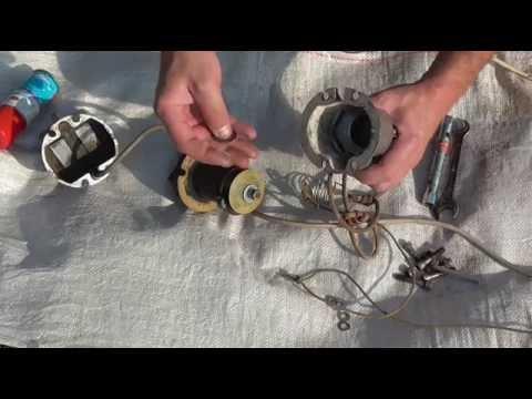 Ремонт катушек вибрационного насоса своими руками 27