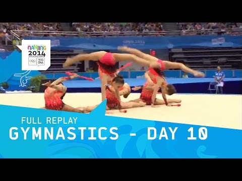 Rhythmic Gymnastics -  Women's Qualifications pt3 | Full Replay | nanjing 2014 Youth Olympic Games