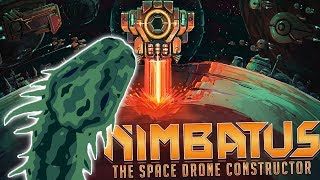 Nimbatus - WORLD DEVOURER SNAKE vs The Mega Laser - Space Drone Building - Nimbatus Gameplay Part 1